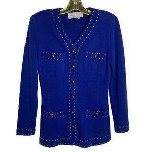 Vintage Embellished Blazer Jacket
